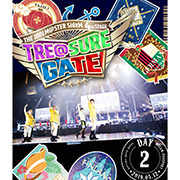 THE IDOLM@STER SideM 4th STAGE ~TRE@SURE GATE~ LIVE Blu-ray 【DREAM PASSPORT(DAY2通常版)】